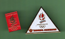 JO ALBERTVILLE 1992 *** Lot De 2 Pin's Differents *** 0025 (122) - Olympic Games