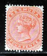 Bermudes 1880 Yvert 16 * TB Charniere(s) - Bermudas