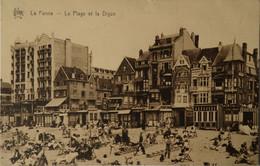 De - La Panne / Plage Et La Digue 1936 Ed. Star - De Panne