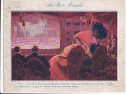 GRAND CHROMO - AU BON MARCHE - Illustration N°5 THEATRE DE L'OPERA Gala Comète De Halley - Au Bon Marché