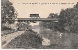 N°5271 R -cpa Nogent Le Perreux -petit Bras De La Marne- - Structures