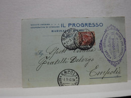 MARINASCO   -- LA SPEZIA  --  IL PROGRESSO  -- COOPERATIVA DI CONSUMO - La Spezia