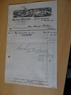 Alte Rechnung Der Brauerei Rhenania Krefeld-Königshof 1928 - Non Classés