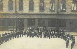 92 MEUDON Fondation BRIGNOLLE GALLIERA Orphelinat St Philippe Céromonie Orchestre Fanfare CARTE PHOTO - Meudon