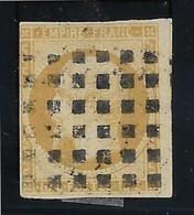 France N°13 - Oblitéré Gros Points - B - 1853-1860 Napoleon III