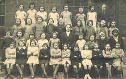 A Identifier Situer Groupe Scolaire Classe  Ecole Jacqueline Caniper Année 1941 1942 CARTE PHOTO - Ansichtskarten