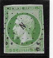 France N°12 - Oblitéré N - Petit Pelurage Sinon TB - 1853-1860 Napoleon III