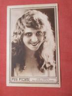 June Caprice  Back Side Masonic Theatre Information       Ref  4399 - Artistas