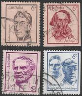 Australia. 1970 Famous Australians (3rd Series). Used Complete Set. SG 479-482 - 1966-79 Elizabeth II