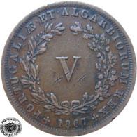 LaZooRo: Portugal 5 Reis 1867 VF - Portugal
