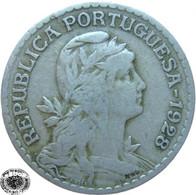 LaZooRo: Portugal 1 Escudo 1928 VF - Portugal