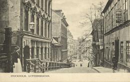 Sweden, STOCKHOLM, Lutternsgatan (1900s) Postcard - Zweden