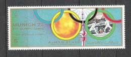 Ajman Escrime   JO Munich 1972    **  MNH - Fencing