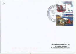 YT 113 Et 112 - Recherche Scientifique En Antarctique - Base De Casey - 01/01/2005 - Phoques - Covers & Documents