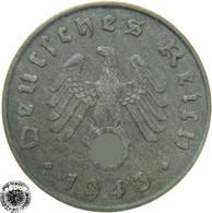 LaZooRo: Germany 10 Pfennig 1943 A XF - [ 4] 1933-1945 : Tercer Reich