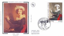 Enveloppe 1er Jour Elisabeth Vigée-Lebrun (YT 3526) - 2000-2009