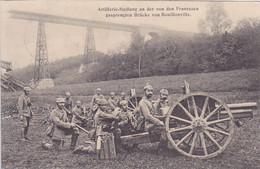 ( 54 ) - Bouillonville Artillerie-Stellung Carte Allemande 1° Guerre - Frankreich