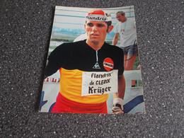 EEKLO: Wielrenner Roger De Vlaminck - Flandria - De Clerck 24 X 18 - Radsport