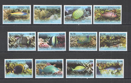 NW0061 2013 PENRHYN FAUNA FISH & MARINE LIFE !! #718-29 MICHEL 70 EURO 1SET MNH - Vita Acquatica