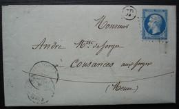 Roches Sur Rognon Haute Marne 1862 Douriez Et Legros (Forges), Cad De Doulaincourt Avec Origine Rurale (OR) - 1849-1876: Klassik