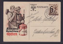 Deutsches Reich Ganzsache WHW Neumünster Nach Radenkirchen 1.1.1941 - Deutschland
