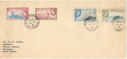 Barbados Cover Registration Branch G.P.O. Barbados 22-9-1961 - Barbades (...-1966)