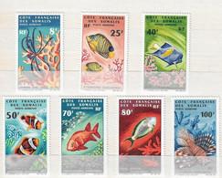 COTE Des SOMALIS  PA N°49 0 55 **  7 Valeurs Série Complète Neuve Sans Charnière  MNH - Unused Stamps