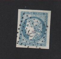 Reproduction Bordeaux N° 44, 20 C Cérès Oblitéréation Ancre - 1870 Emisión De Bordeaux
