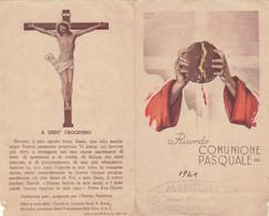 Santino Ricordo Comunione Pasquale 1941 - Imágenes Religiosas