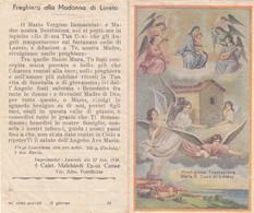 Santino Preghiera Alla Madonna Di Loreto - Imágenes Religiosas