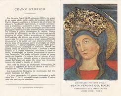 Santino Beata Vergine Del Pozzo - Imágenes Religiosas