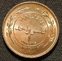 RARE - JORDANIE - JORDAN - 1 FILS 1984 ( 1404 ) - Hussein - KM 35 - Jordan
