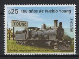 Uruguay (2020) - Set -  /  Train - Locomotive - Railway - Tren - Eisenbahn - Trains - Treni
