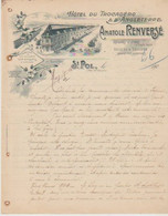 PAS De CALAIS: Anatole RENVERSE, Hôtel Du Trocadéro, Ecuries, Remise à St Pol / L. De 1900 - Frankreich