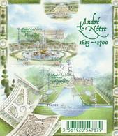 FRANCE 2013 BLOC OBLITERE ANDRE LE NOTRE -  F4751 - F 4751 - Sheetlets