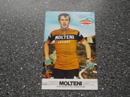 WESTMALLE: Wielrenner Frans Mintjens - Molteni - Handtekening (Linkerkant Afgesneden !!) - Wielrennen