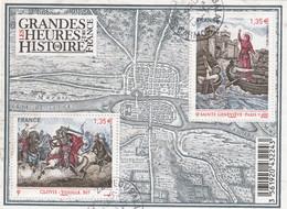 FRANCE 2012 BLOC LES GRANDES HEURES DE L HISTOIRE OBLITERE - F4704 - F 4704       - - Sheetlets