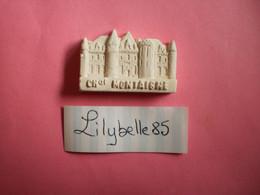Feve Artisanale - ESSAI / PROTO - CHATEAU MONTAIGNE - MOULIN A HUILE - MH ( Feves Figurine Miniature ) - Regio's