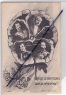 Ceux Qui Se Sont Réunis Dans La Même Pensée: S.M Nicolas II / Mr Poincaré / S.M. Albert 1er / S.M. Georges V - Guerra 1914-18
