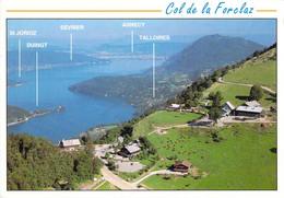 74 - Col De La Forclaz - Montmin - Vue Panoramique Sur Le Col Et Le Lac D'Annecy - Other Municipalities