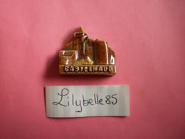 Feve Artisanale - CHATEAU DE CASTELNAUD - MOULIN A HUILE - MH ( Feves Figurine Miniature ) - Regio's