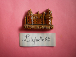 Feve Artisanale - CHATEAU DE PUYGUILHEM - MOULIN A HUILE - MH ( Feves Figurine Miniature ) - Regio's