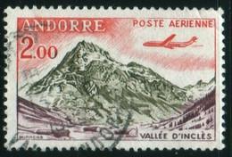 Andorre 1961 Vallée D'Inclès PA N° 5 Oblitéré V. Explic - Airmail