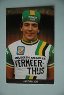 CYCLISME: CYCLISTE : JOS JACOBS - Cyclisme