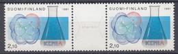+M663. Finland 1991. Chemistry. Michel 1157-58. MNH(**). - Ungebraucht