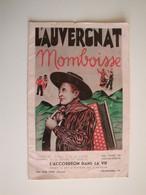 Programme Musical L'Auvergnat Momboise,l'Accordéon Dans La Vie à Vic-sur-Cère,Cantal - Programmi
