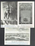 217 P - Florennes Belgique Historique X 3 - Florennes