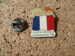 PIN'S  JEUX OLYMPIQUES LILLEHAMMER - Olympic Games