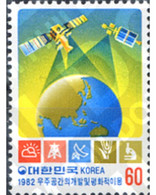 Ref. 288867 * MNH * - SOUTH KOREA. 1982. 2 UNITED NATIONS CONFERENCE FOR THE EXPLORATION OF EXTRA-ADMOSPHERIC SPACE . 2 - Corée Du Sud