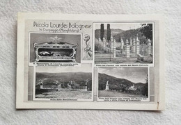 Cartolina Illustrata Dalla Grotta Di Campeggio (Monghidoro) - La Piccola Lourdes Bolognese, Viaggiata 1942 - Italy